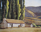The Old Bunk House 1927 - Maynard Dixon reproduction oil painting