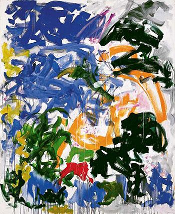 Wind 1981 - Joan Mitchell reproduction oil painting