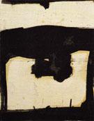 Untitled c 1952 - Franz Kline reproduction oil painting
