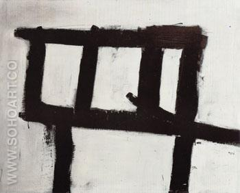 Painting No 3 1952 - Franz Kline reproduction oil painting