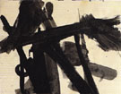 13 14 Untitled 1952 - Franz Kline reproduction oil painting