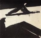 Elizabeth 1958 - Franz Kline reproduction oil painting