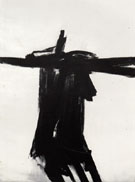 Flanders 1961 - Franz Kline reproduction oil painting