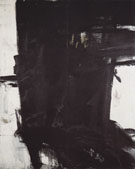 Mahoning II C 1961 - Franz Kline reproduction oil painting