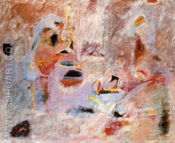 Painting 1945 - Arshile Gorky reproduction oil painting