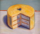 Lemon Cake - Wayne Thiebaud reproduction oil painting
