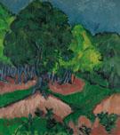 Landscape with Chestnut Tree 1913 - Ernst Kirchner