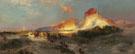 Green River Cliffs Wyoming 1881 - Thomas Moran