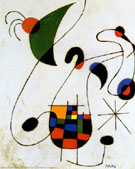 The Melancholic Singer - Joan Miro