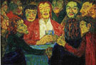 Last Supper 1909 - Emile Nolde