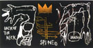 Back of the Neck - Jean-Michel-Basquiat
