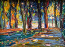 Park of St Cloud c1906 - Wassily Kandinsky reproduction oil painting