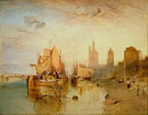 Cologne, the Arrival of a Packet Boat, Evening - Joseph Mallord William Turner