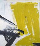Zinc Yellow 1959 - Franz Kline