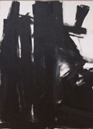 Black Iris 1961 - Franz Kline