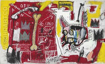 Do Not Revenge - Jean-Michel-Basquiat reproduction oil painting