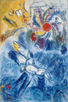 The Creation of Man 1958 - Marc Chagall reproduction oil painting