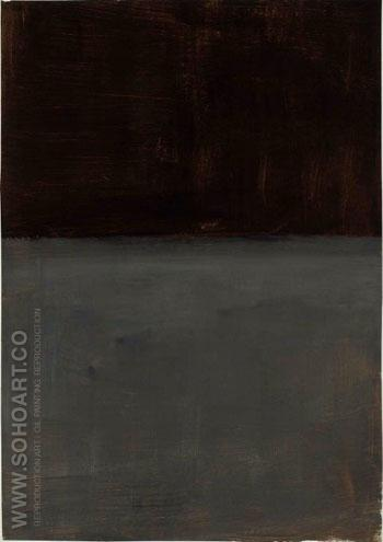 Untitled Brown and Gray 1969 - Mark Rothko reproduction oil painting