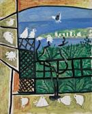 Los Pichones 1957 - Pablo Picasso