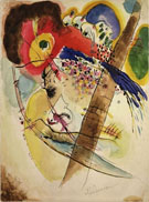 Exotic Birds - Wassily Kandinsky reproduction oil painting