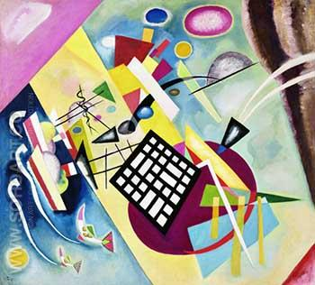Black Grid 1922 - Wassily Kandinsky reproduction oil painting