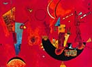 Mit und Gegen 1929 - Wassily Kandinsky reproduction oil painting