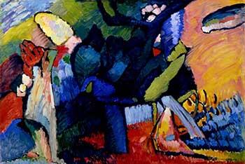 Improvisation 4 1909 - Wassily Kandinsky reproduction oil painting