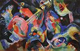 Improvisation Deluge 1913 - Wassily Kandinsky