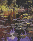 Lily Pond 1923 - Frank Weston Benson reproduction oil painting