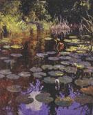Lily Pond 1923 - Frank Weston Benson