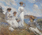 Summer 1909 - Frank Weston Benson reproduction oil painting