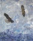 Study for Two Eagles 1945 - Frank Weston Benson