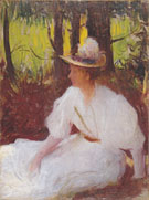 Ellen in the Woods 1902 - Frank Weston Benson