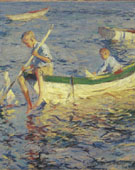 Two Boys in a Boat 1904 - Frank Weston Benson