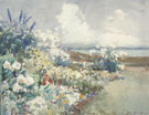 Seaside Gardens 1927 - Frank Weston Benson