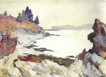 Wooster Cove 1923 - Frank Weston Benson reproduction oil painting