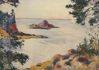North Haven Maine 1922 - Frank Weston Benson reproduction oil painting