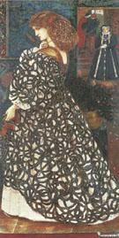 Sidonia von Bork 1860 - Sir Edward Coley Burne-jones