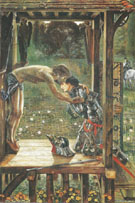 The Merciful Knight 1863 - Sir Edward Coley Burne-jones