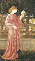 The King's Daughter 1865-66 - Sir Edward Coley Burne-jones
