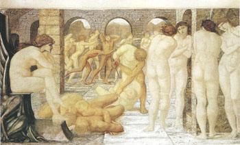 Venus Discordia 1872-73 - Sir Edward Coley Burne-jones reproduction oil painting