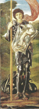 Saint George 1873-77 - Sir Edward Coley Burne-jones