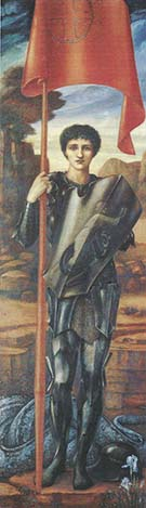 Saint George 1897-98 - Sir Edward Coley Burne-jones