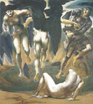 The Perseus Series the Death of Medusa II ca 1881-82 - Sir Edward Coley Burne-jones
