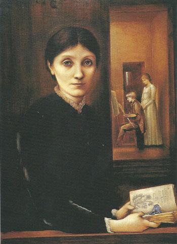 Georgiana Burne Jones Begun 1883 - Sir Edward Coley Burne-jones reproduction oil painting