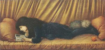Kati Lewis 1886 - Sir Edward Coley Burne-jones reproduction oil painting