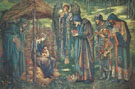 The Star of-Bethlehem 1887-90 - Sir Edward Coley Burne-jones