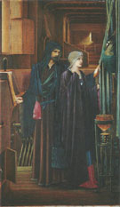 The Wizard 1891-98 - Sir Edward Coley Burne-jones