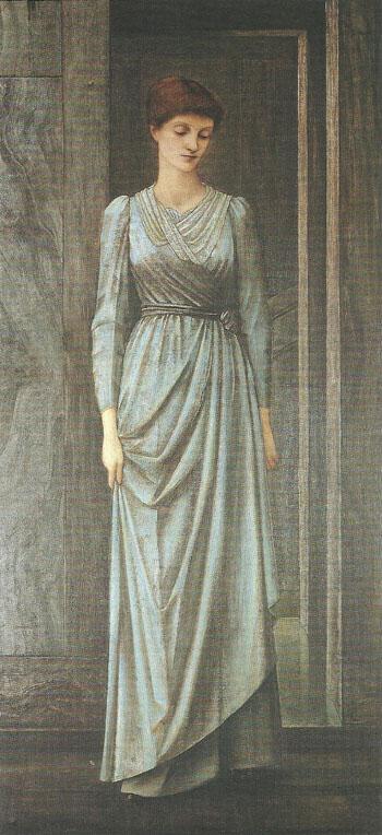 Lady Windsor 1893-95 - Sir Edward Coley Burne-jones reproduction oil painting