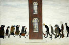 The Meeting Point - L-S-Lowry